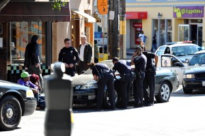 Police action on Chenery 8-8-2009