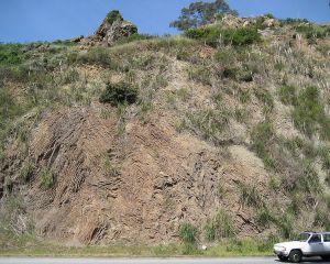 Chert outcropping in Glen Canyon