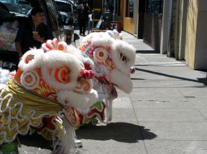 Lion Dancers at Eggettes 2