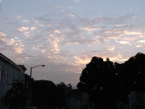 Glen Park, 7:55 a.m. January 24, 2014. Photo by Elizabeth Weise