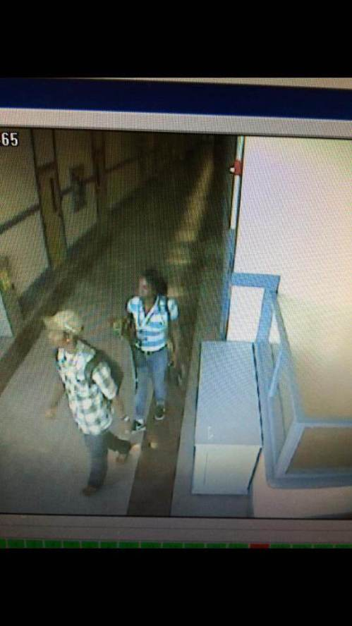 "Here is security photo from the Glen Park school camera.  They took teacher wallets too. ""Spread around the communities so we can catch these idiots,"" as one parent said."