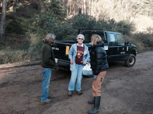 Jean Conner - ready to begin Glen Canyon volunteering - January 14, 2015