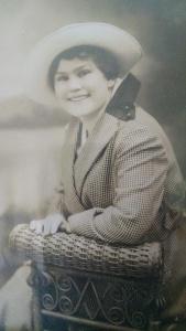 "Amelia ""Angie"" Leake as a young woman, circa 1916."